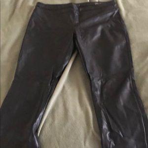 Blank NYC Faux Leather Black Leggings
